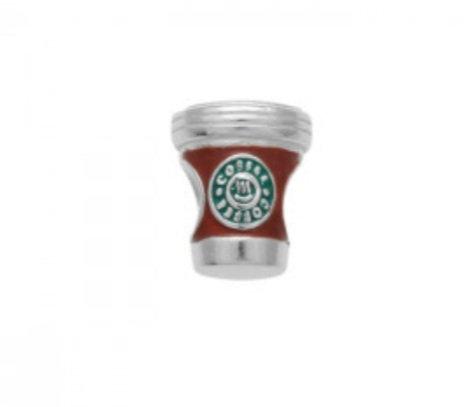 Berloque Coffee Prata 925