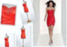 L D Design sudent in fashion  parade