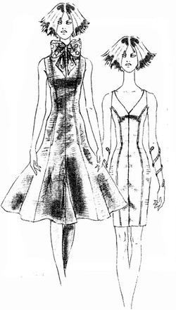 PATTERNMAKING  PRINCESS WITH FLARE FRONT SKETCH (2).jpg