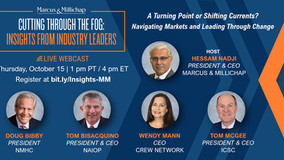 Insights from Industry Leaders LIVE Webcast October 15th