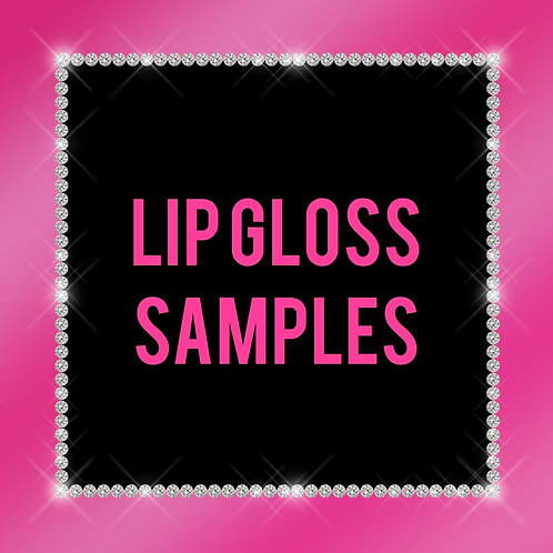Lipgloss samples !
