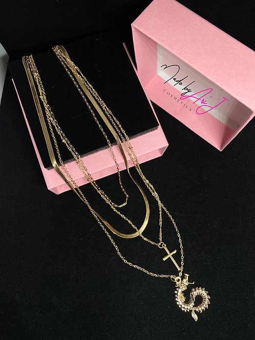 Multi Layered Gold Necklace