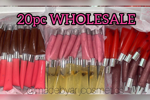 20pc Silver Top Squeeze Tube Wholesale