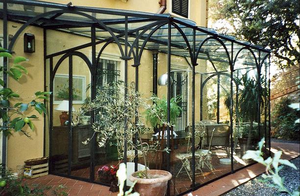 Verande in ferro battuto e vetro Sardegna