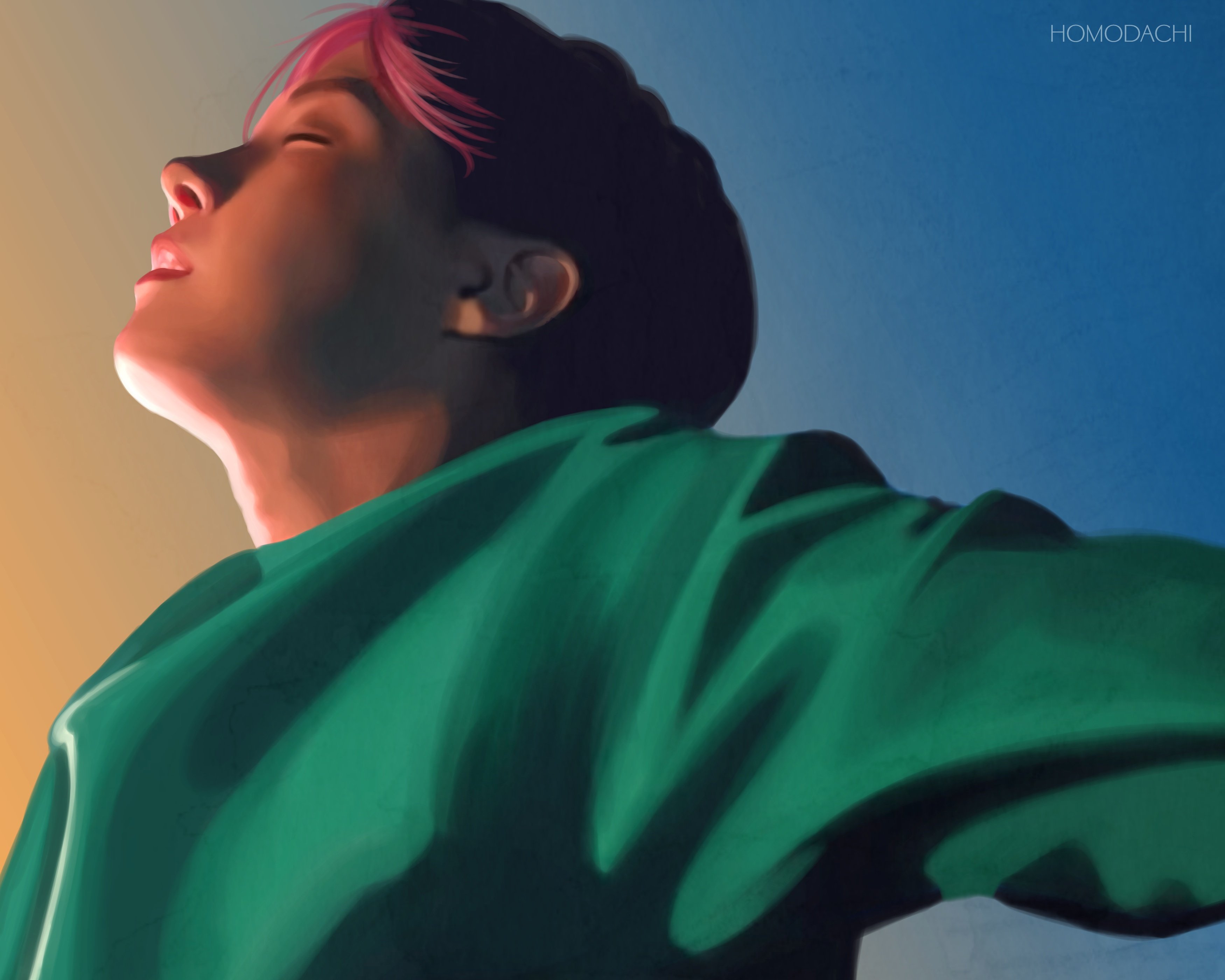 Spring Day Jhope portrait