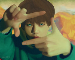 spring day portraits tae