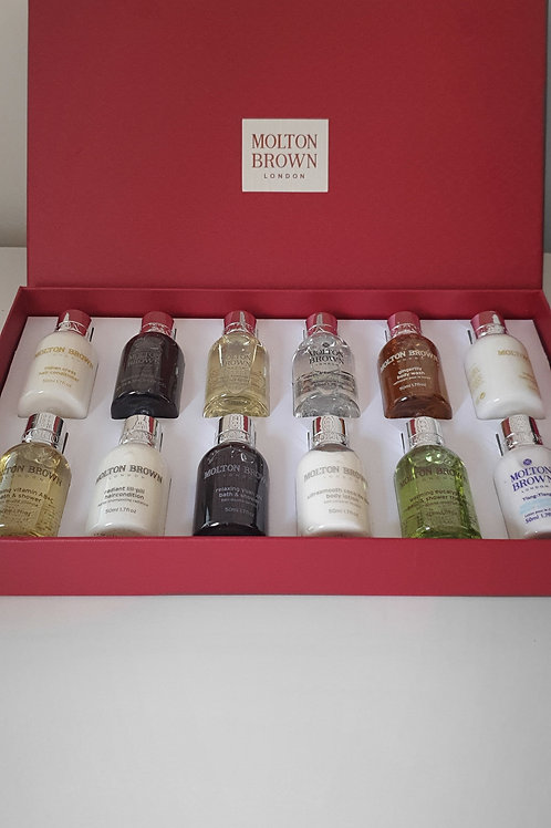 Molton Brown Body Wash 12 x 50 ml Boxed gift set