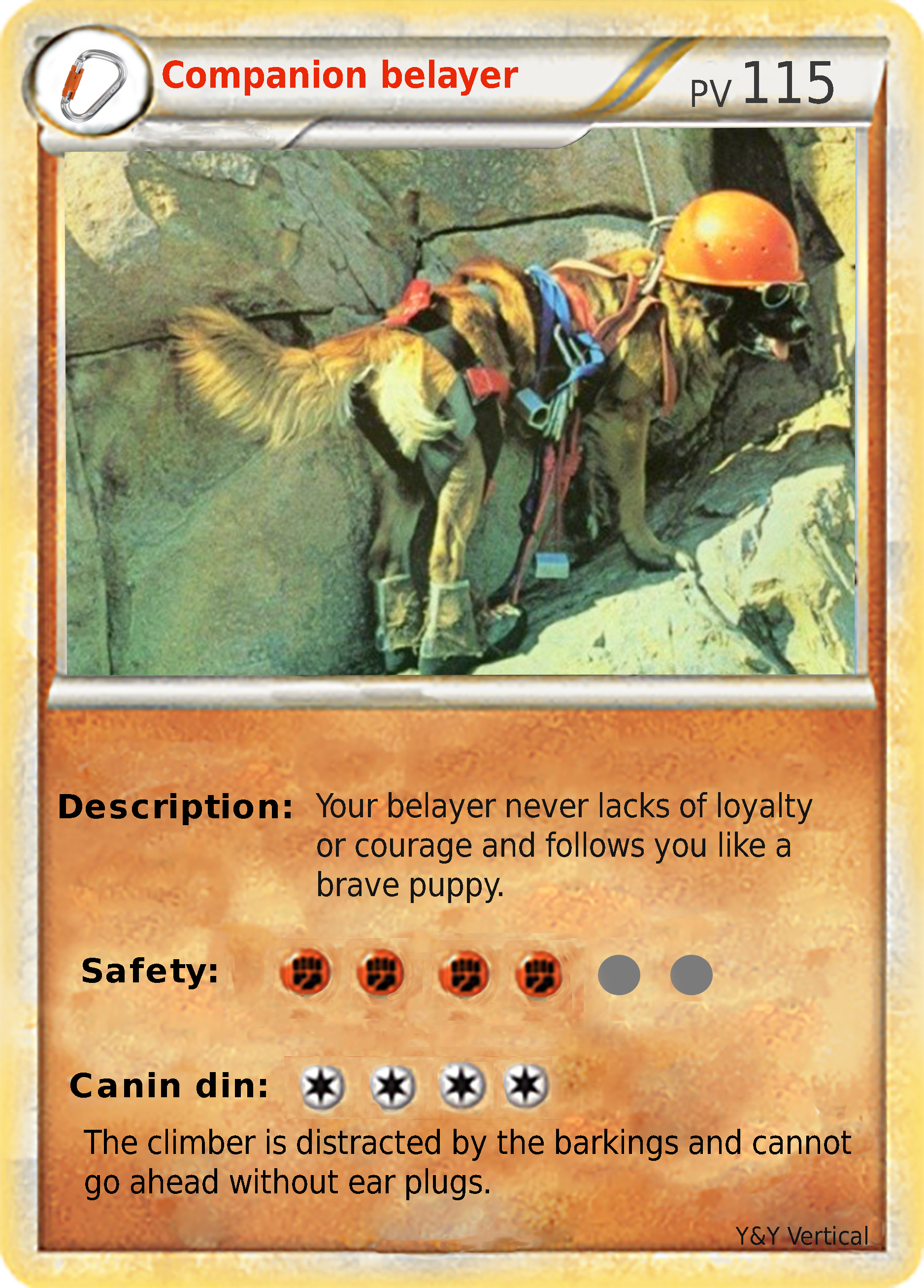 Companion belayer