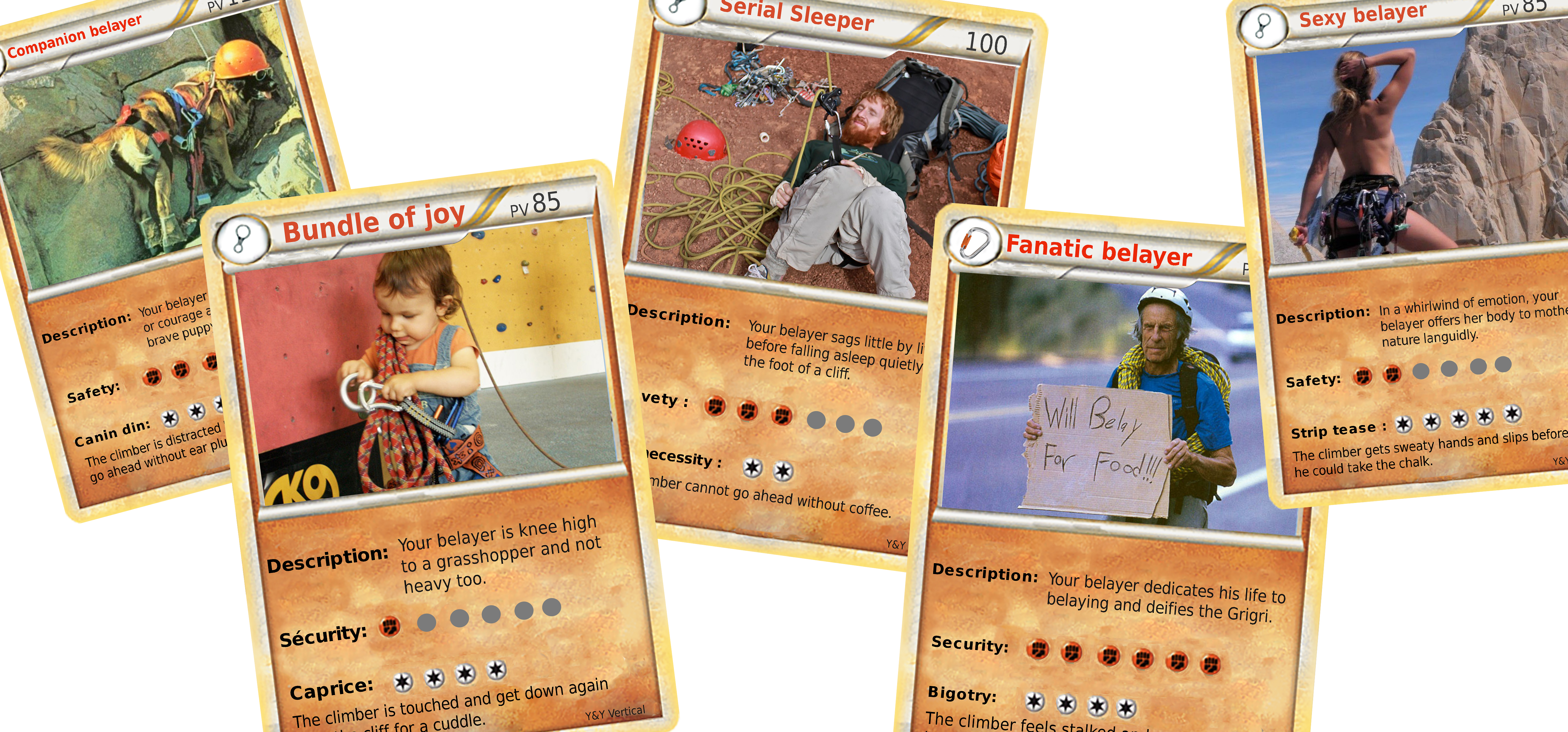 Belayer's cards