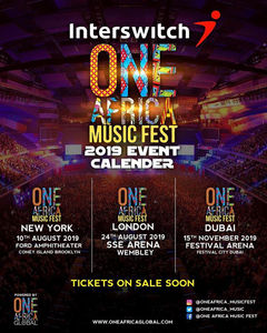 One Africa Music Fest: London, New York and Dubai