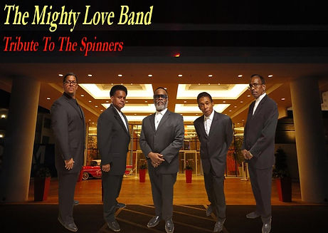 The Mighty Love Is The Premier Spinners Tribute Band. TheSpinnersTribute.com 313.986.0998