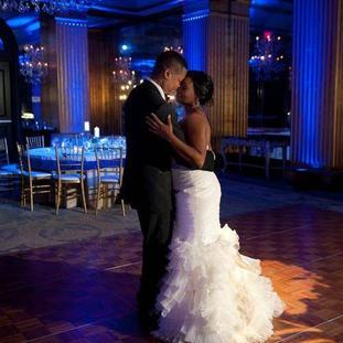 Uplighting For Wedding Dance Floor