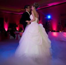 Bride And Groom Intimate Lighting