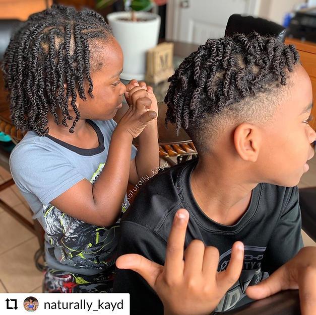 LaKayla's sons