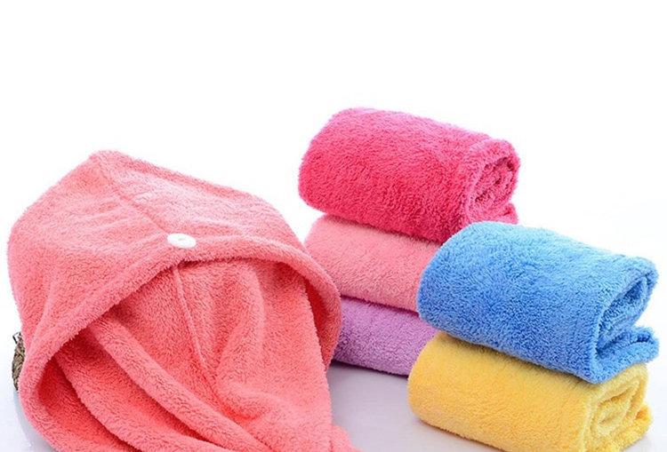 Ultra Absorbent Microfiber Hair Towel