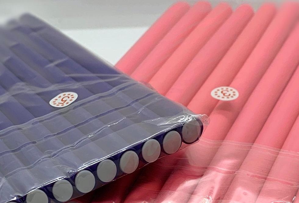 10 pc Soft Foam Flexi Curling Rods