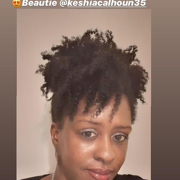 Keshia's Twist out
