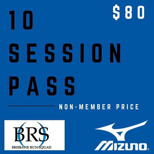 10 Session Pass (Non-Member)