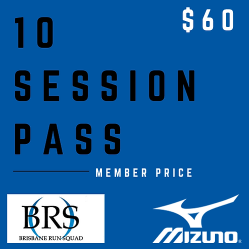 10 Session Pass (Member)