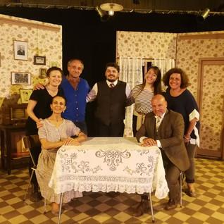 """Spectacle""""La Mine"""" avec la Compagnie Les oxymores spectacles théâtralet musical, événements sur mesure dans le Gard, Rhône-Alpes, Ile de France"""