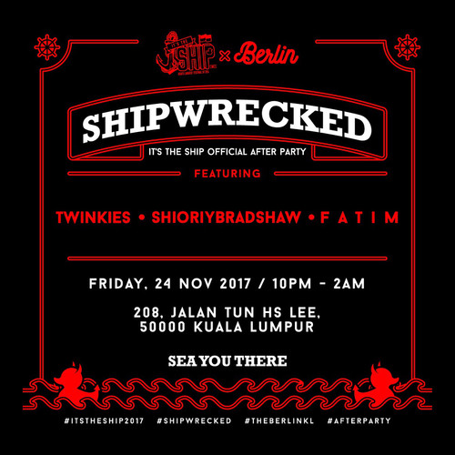 Shipwrecked (ITS Official After-Party)