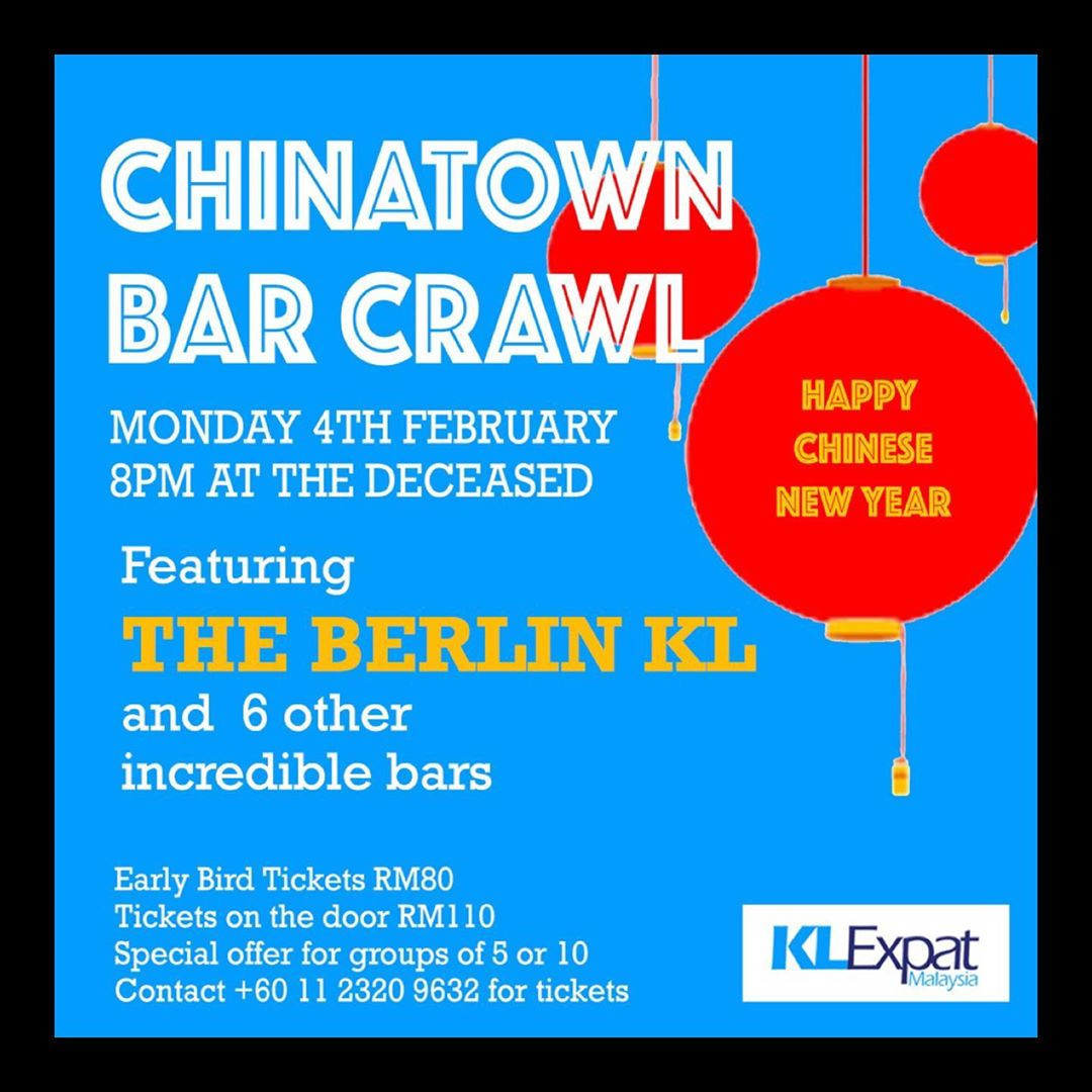 Chinatown Bar Crawl