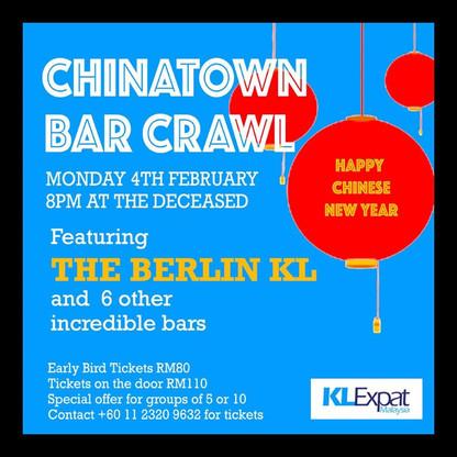 Chinatown Bar Crawl