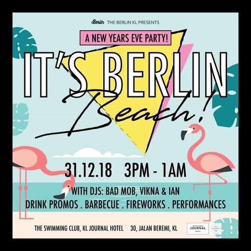 It's Berlin, Beach Pool Party