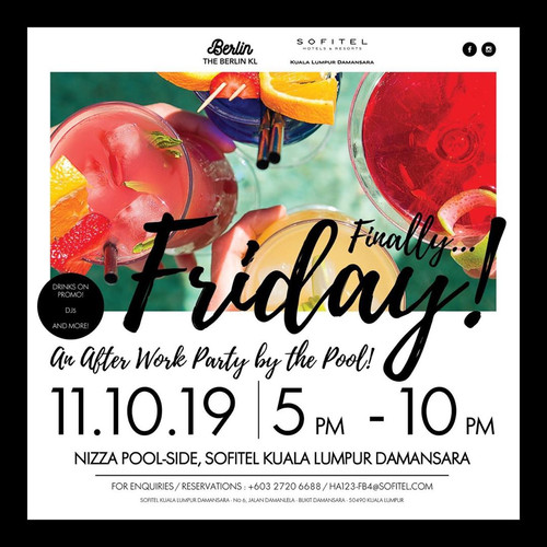 Finally Friday Pool Party