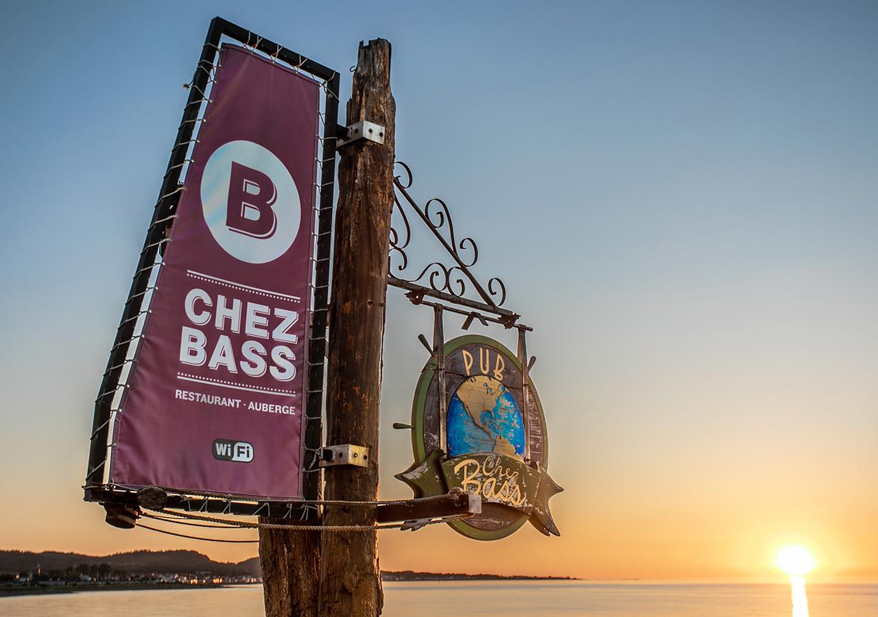 Chez Bass ambiance extérieure