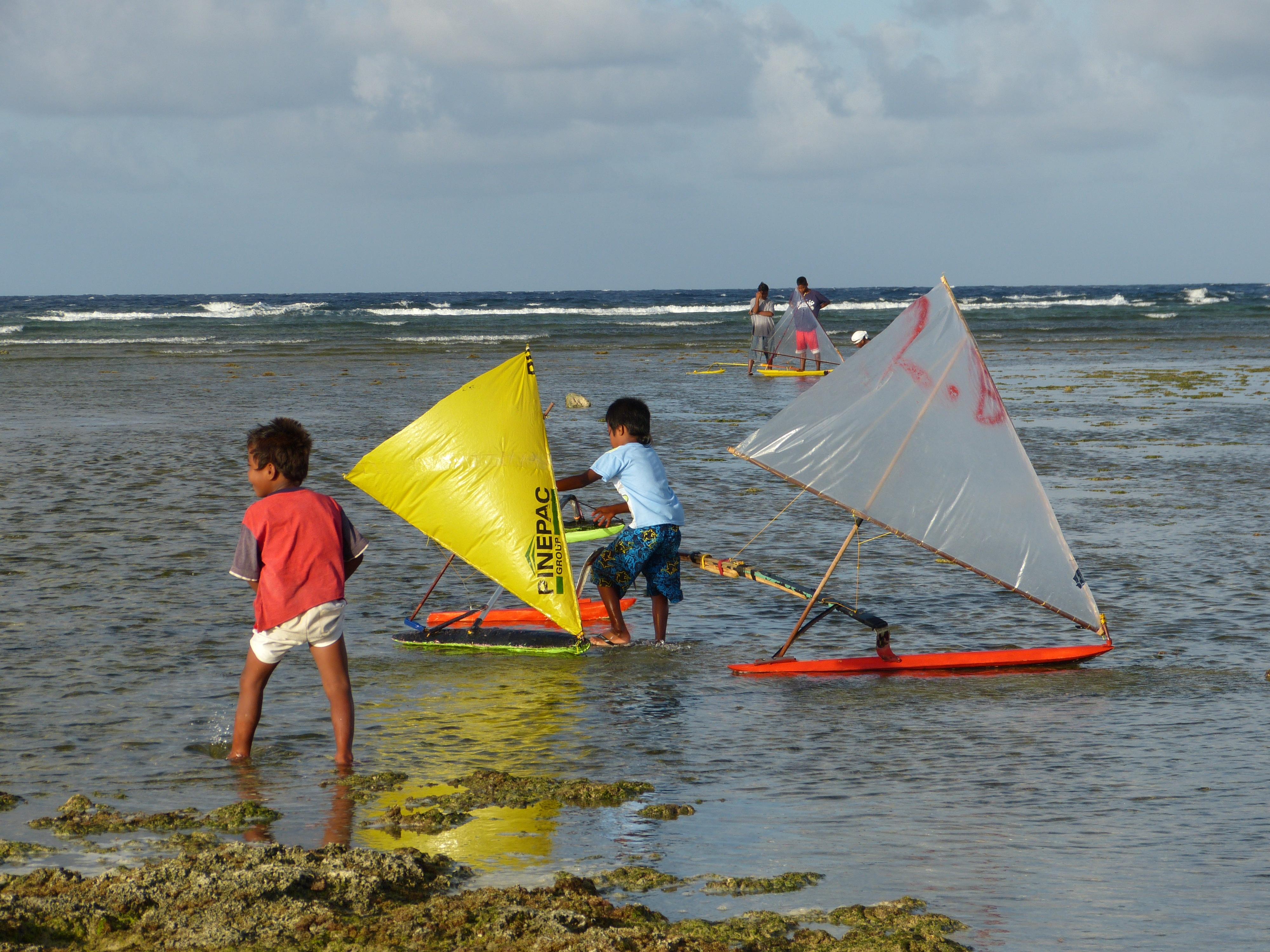 הרצאות מסע - סירות קאנו באיי מרשל