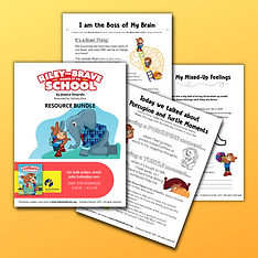 Riley the Brave Makes It to School Resource Bundle