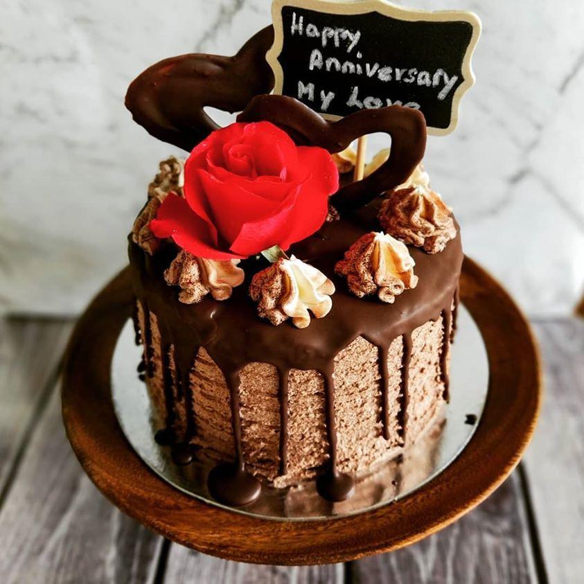 Chocolate cake with message.jpg