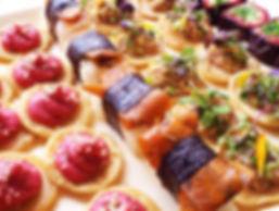 Vegan catering platter