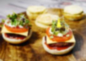 Vegan plant-based catering platter