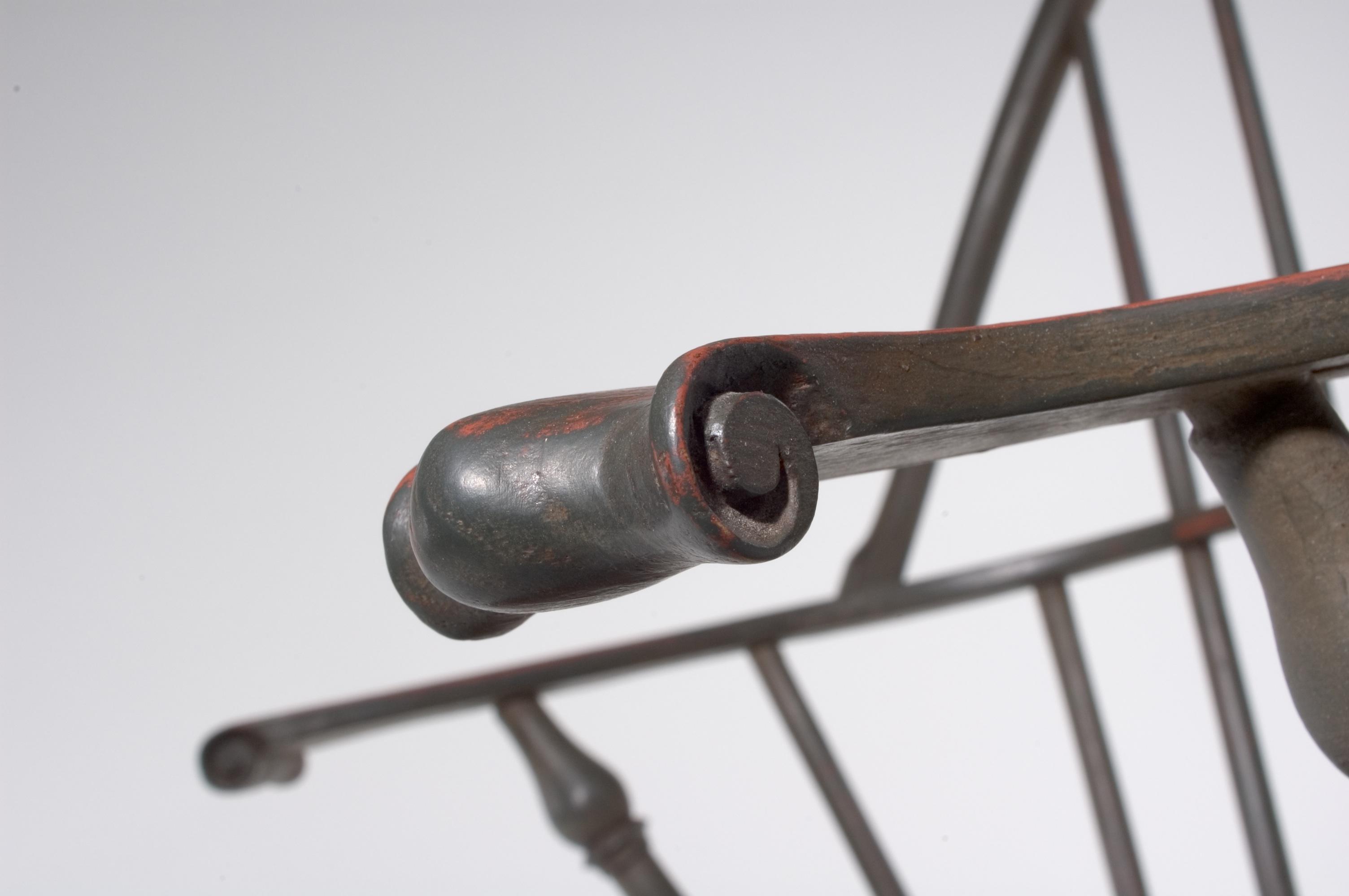 Windsor Bow Back Arm Chair-Knuckle