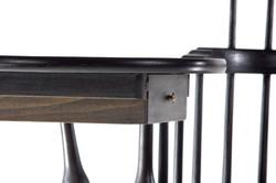 Windsor Writing Arm Chair-Drawer