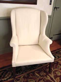 Wing Back Arm Chair Without Cover