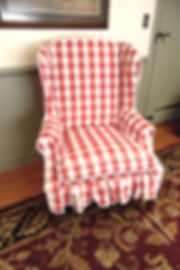 Wing Back Arm Chair.JPG