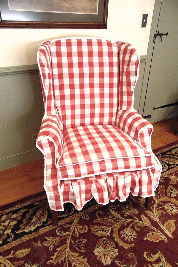 Wing Back Arm Chair.JPG