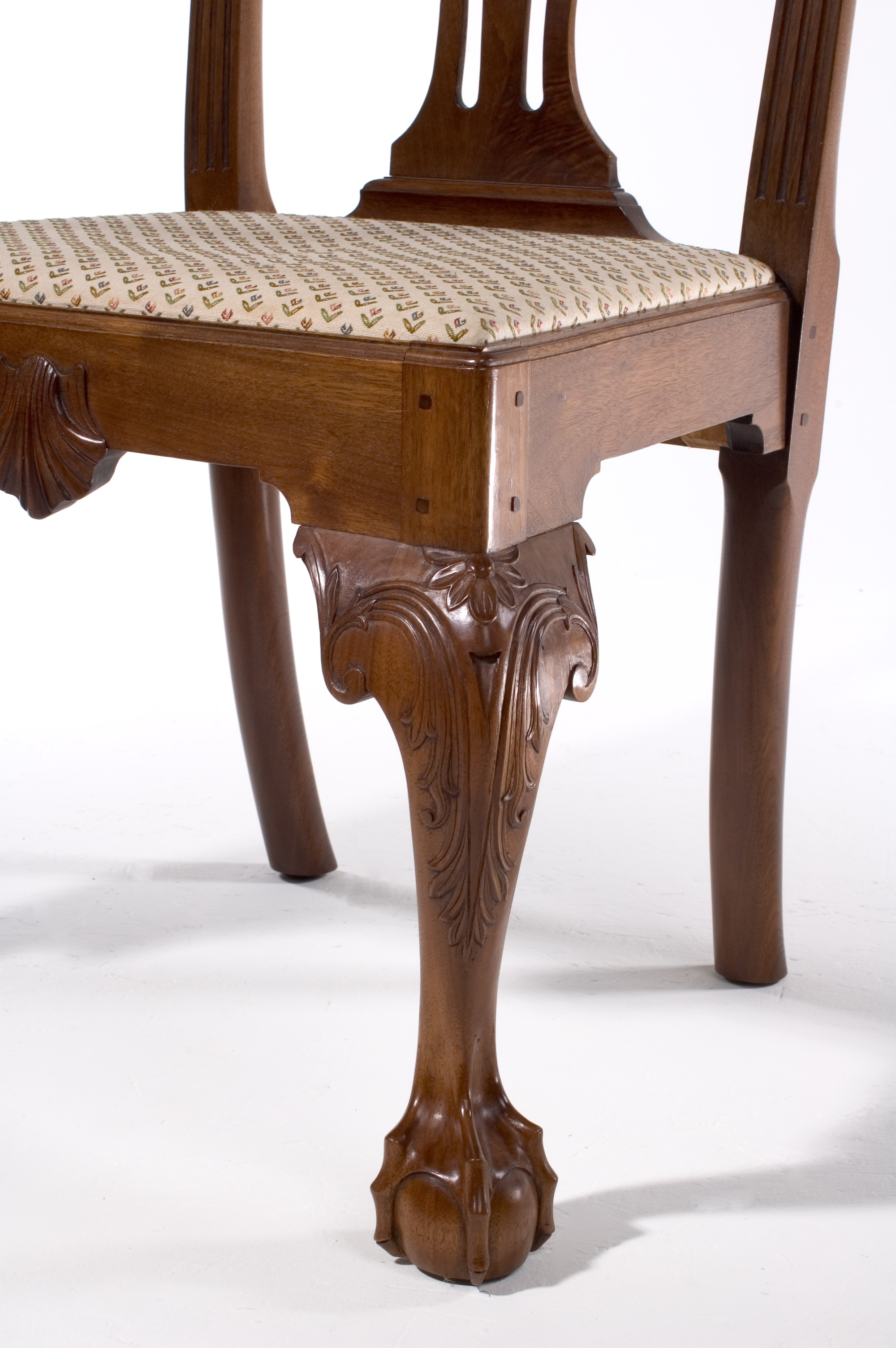Chippendale Side  Chair-Leg