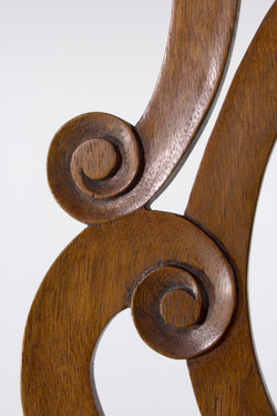Chippendale Side Chair-Splat