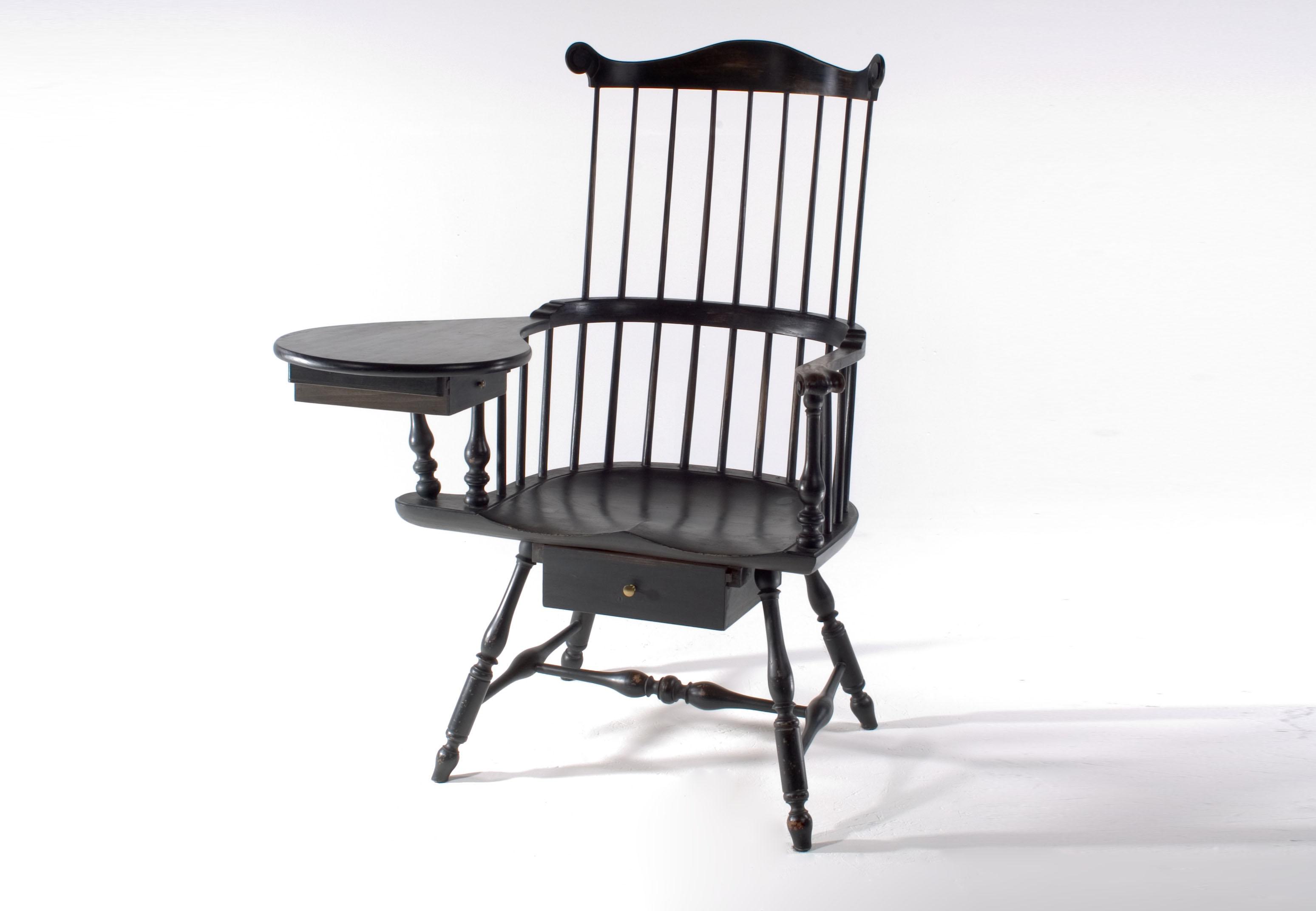 Windsor Writing Arm Chair