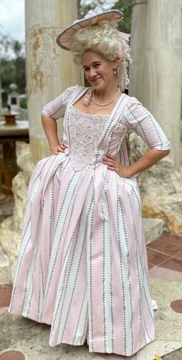 18th Century Polonaise Gown