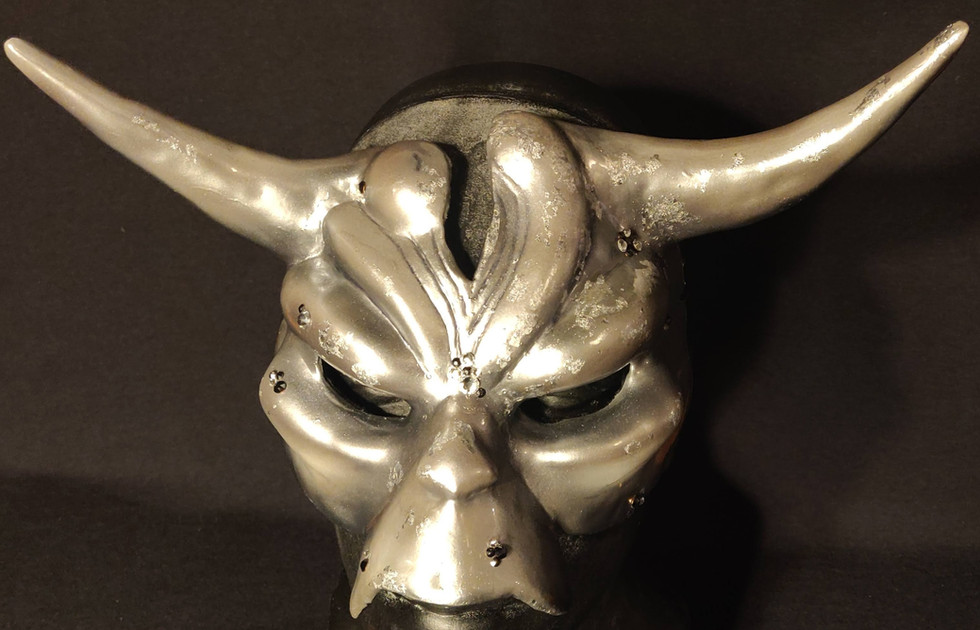 Silver Decadence Mask