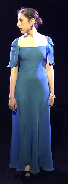 1930s Bias Gown