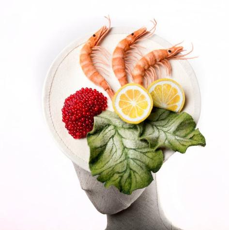 Shrimp Fascinator
