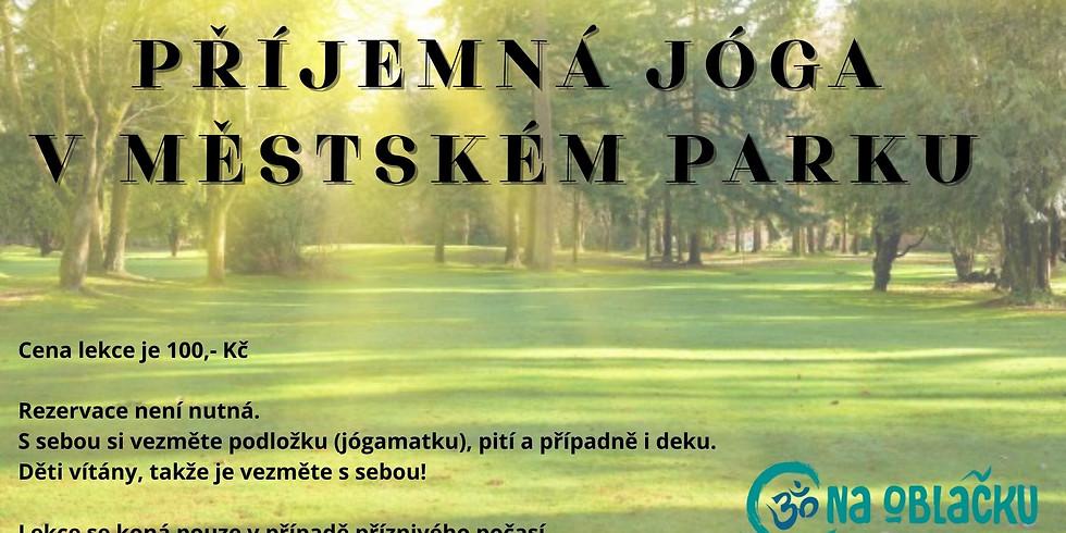Jóga v městském parku 13.6.2021