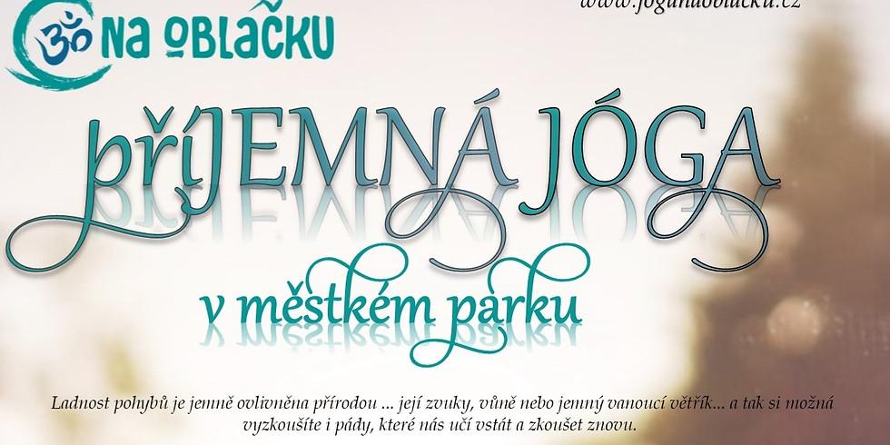 Jóga v městském parku - 11.7.2020