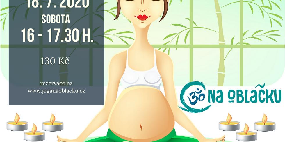 Lekce jógy pro těhotné